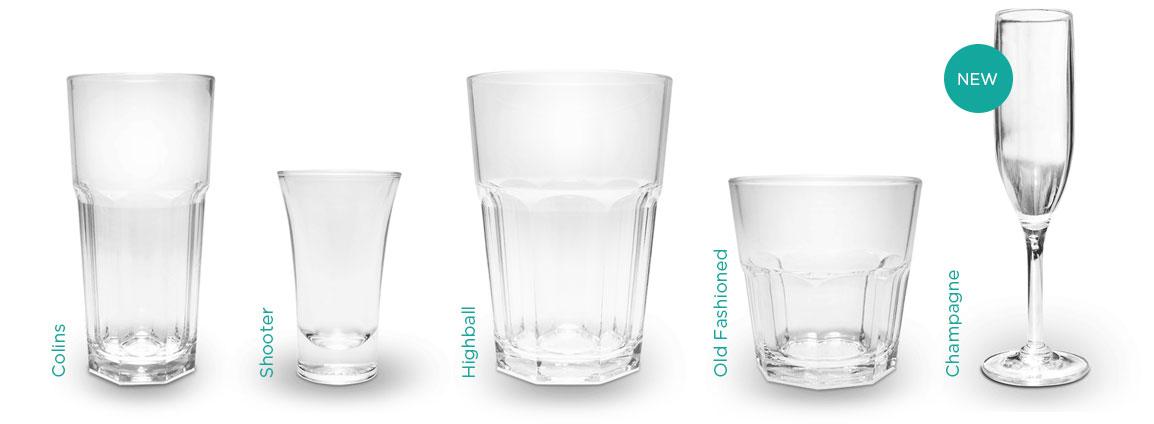 Glasstic Produkte